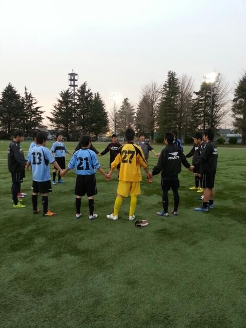 3/10(日)U15トレーニングマッチ