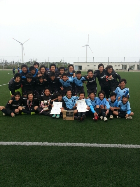 4/14(日)U15,14-A 銚子フェスティバル決勝トーナメント