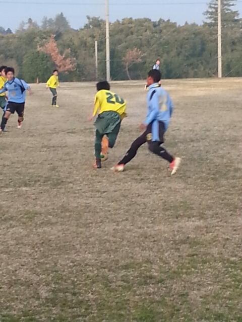 12/26(木)U14トレーニングマッチ