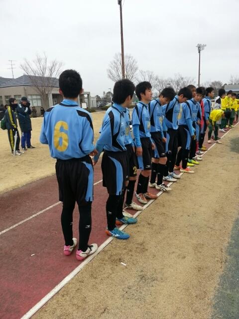 3/1(土)クラブU14上位リーグ最終節