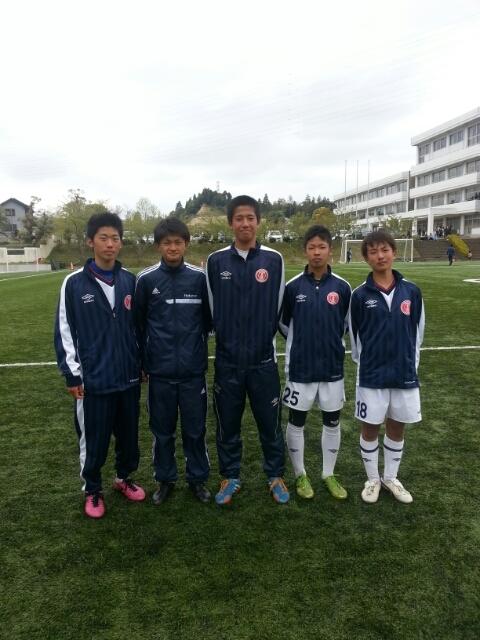4/20(日)U15トレーニングマッチ