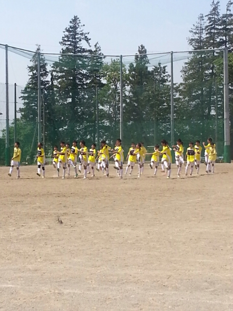5/10(日)U15トレーニングマッチ