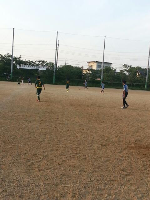 5/24(土)U15トレーニングマッチ