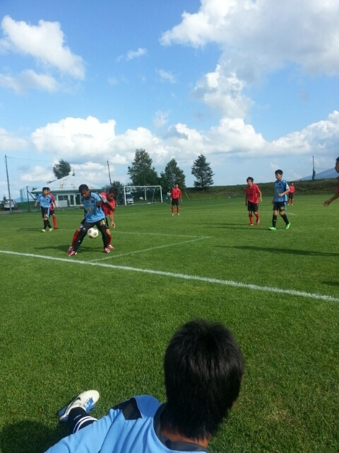 7/28(月)U15トレーニングマッチ