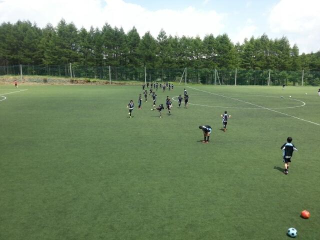 7/25(木)U13 BANFF横浜ベイ 長野女神湖交流大会初日