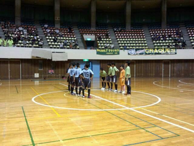 9/21(土)U15フットサル選手権予選リーグ