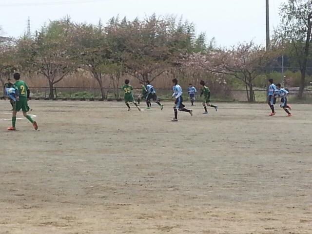 4/13(日)U13トレーニングマッチ