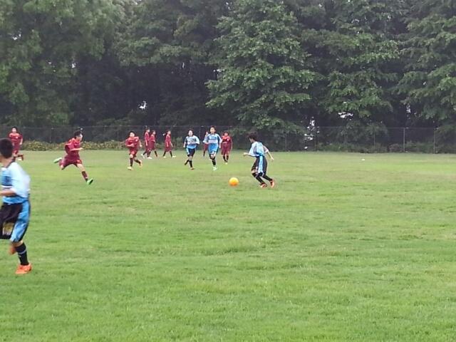 6/8(日)U13トレーニングマッチ