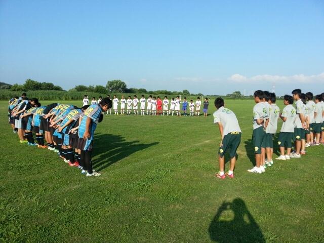 7/26(土)U14トレーニングマッチ
