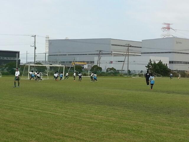 9/28(土)U13トレーニングマッチ