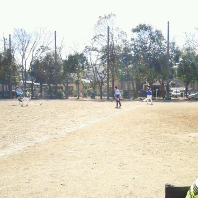 3/22(土)U14B,U13A千葉県サッカーフェスティバル