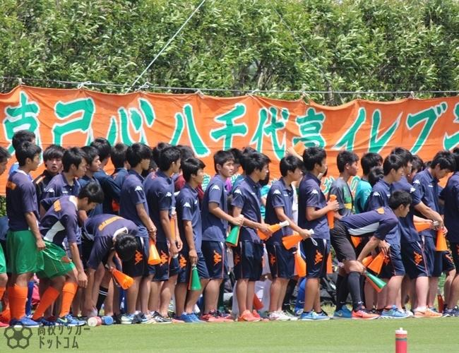 2016年関東高校サッカー大会1回戦 八千代高校vs真岡高校