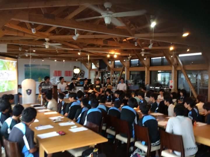 キャリア教育&長谷川太郎&北埜コーチサッカークリニック