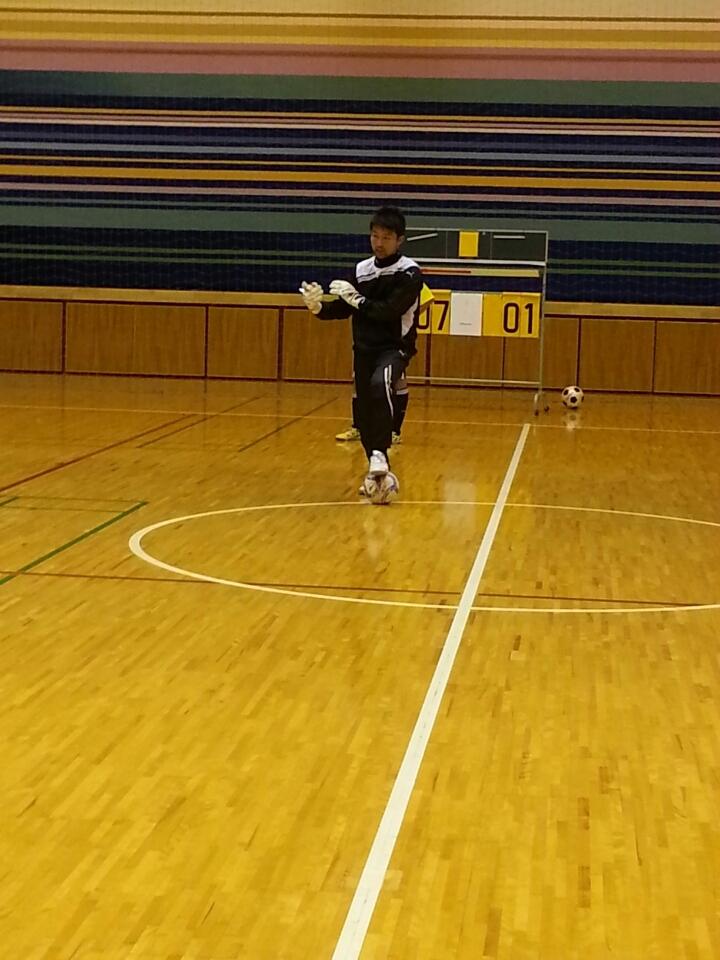 北埜コーチGKトレーニング