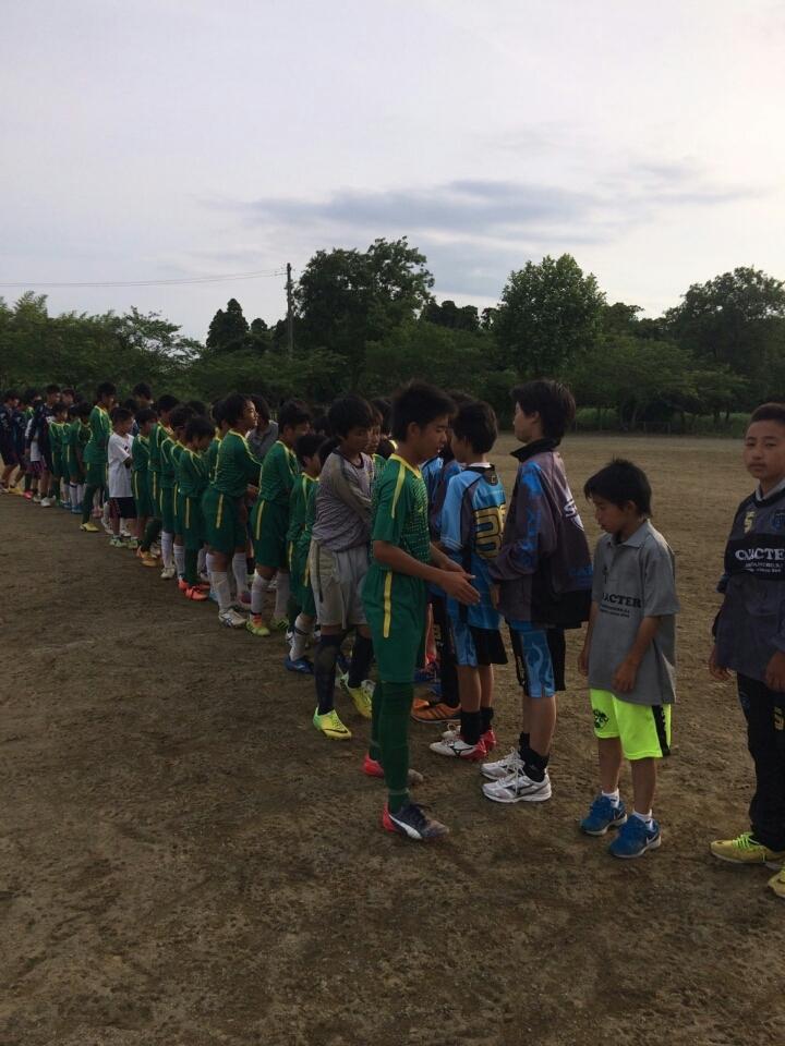 6/7(日)U13トレーニングマッチ