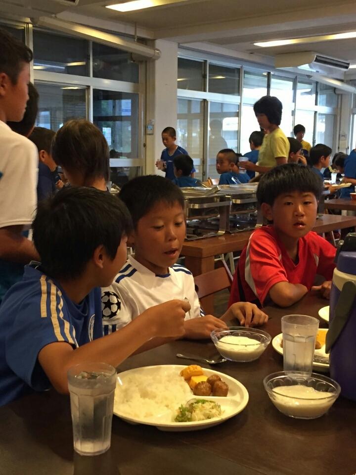 ジュニアサッカースクール高学年合宿2日目-2