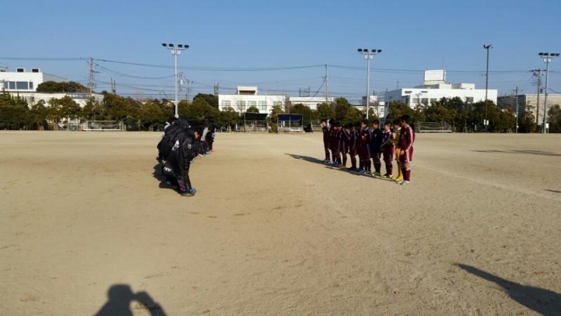 2/15(日)U13トレーニングマッチ