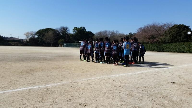 3/27(金)U13千葉県サッカーフェスティバル