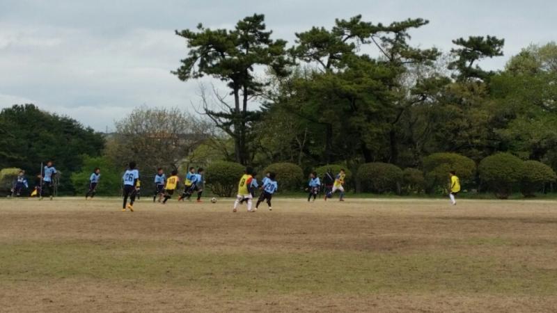 4/11(土)U13トレーニングマッチ
