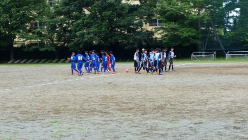 6/6(土)U14トレーニングマッチ