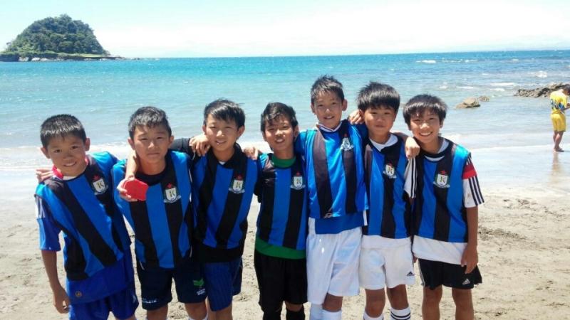 ジュニアサッカースクール2日目目