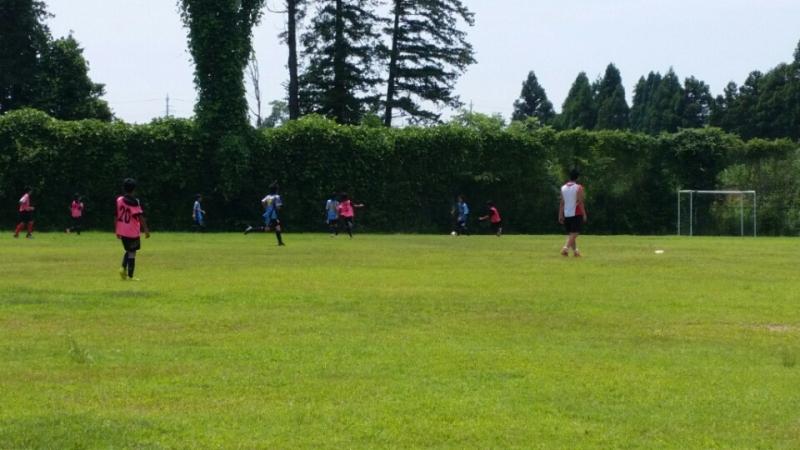 7/26(日)U14トレーニングマッチ
