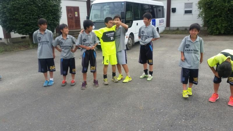 8/23(日)U13ウエストサイド境サッカーフェスティバル
