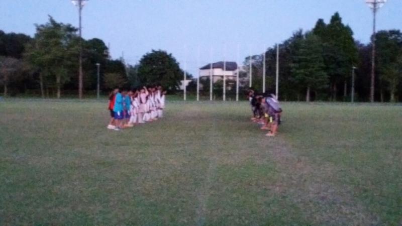 9/20(日)U13トレーニングマッチ