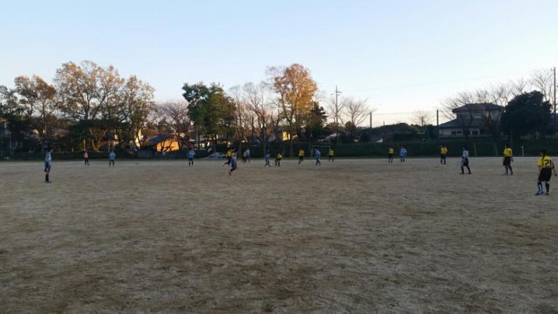 11/28(土)U14トレーニングマッチ
