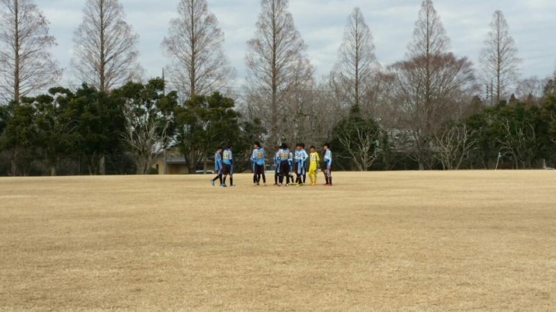 1/11(月)U14トレーニングマッチ