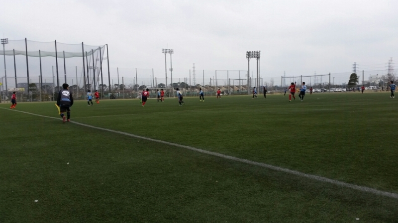 2/6(土) U15,U14トレーニングマッチ