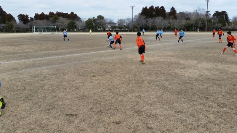 2/27(土)U13トレーニングマッチ
