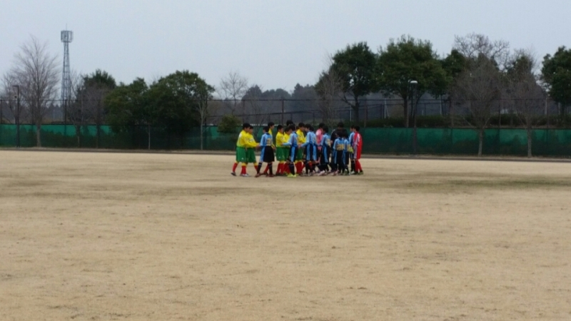 3/13(日)U13トレーニングマッチ