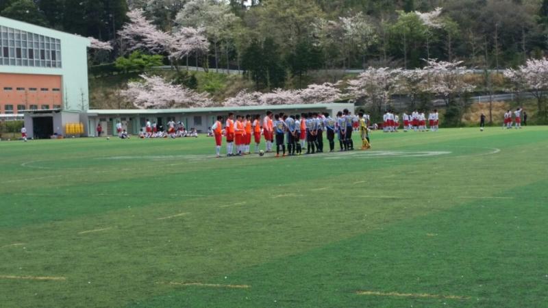 4/9(土)U15トレーニングマッチ