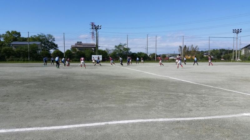 4/29(金)U15トレーニングマッチ