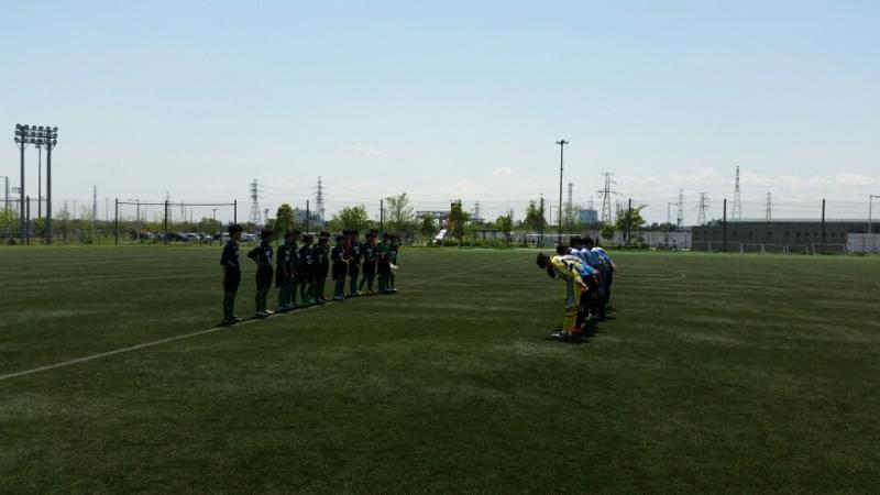 4/30(土)U14トレーニングマッチ