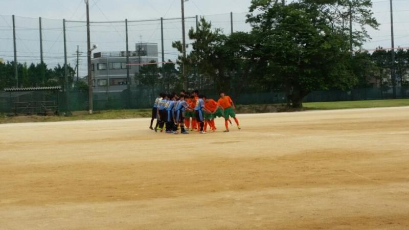 6/4(土)U15トレーニングマッチ