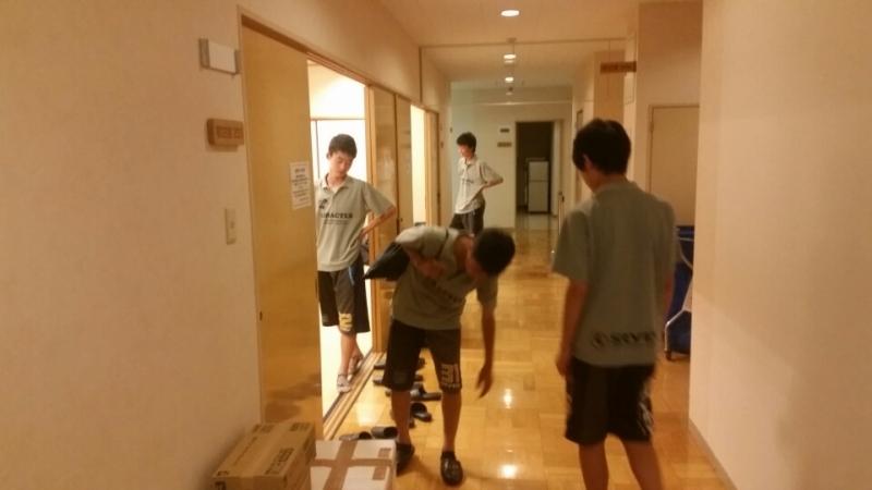 6/18(土)U15クラブユース選手権関東大会 前泊2