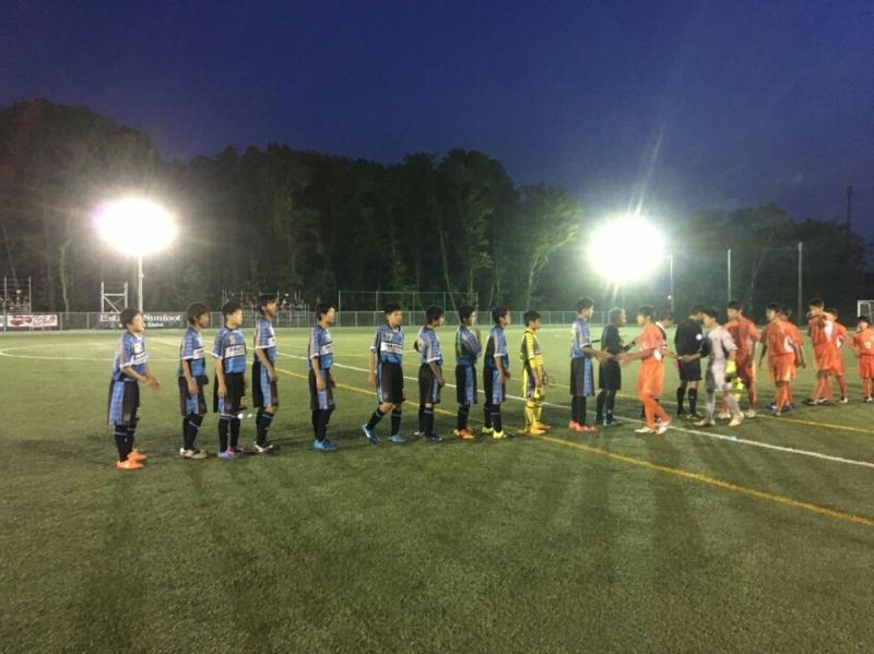 5/8(日)U15CY選手権決勝R16