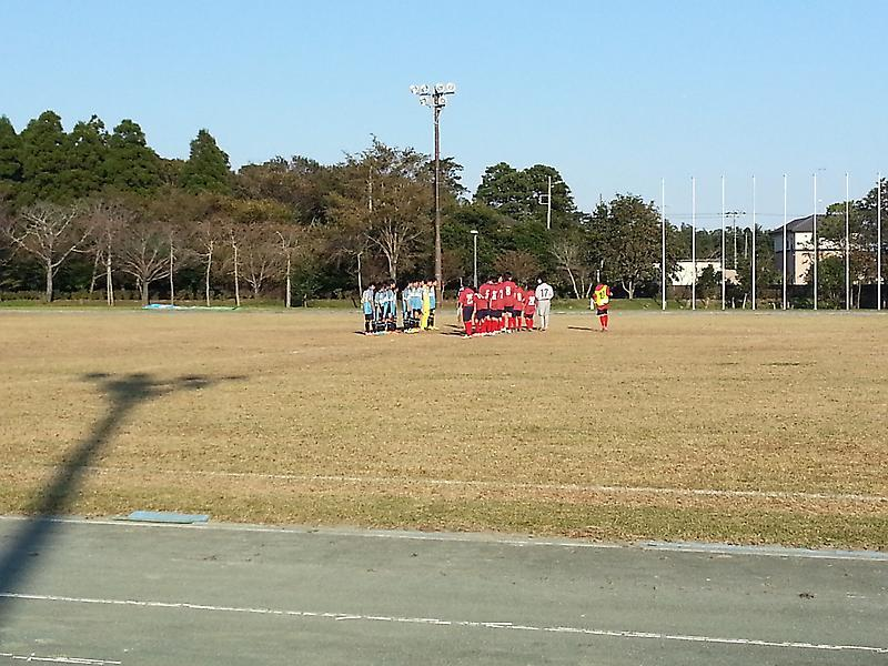 10/18(土)U13トレーニングマッチ