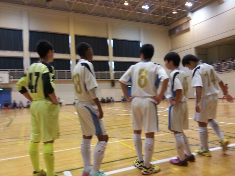 10月19(日)U15フットサル選手権千葉県予選2次リーグ
