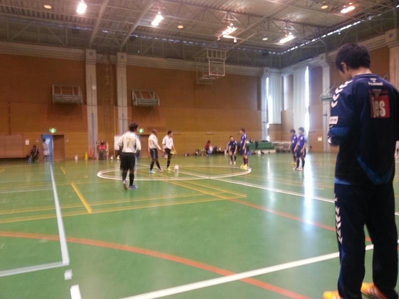 ■U15フットサルトレーニングマッチ