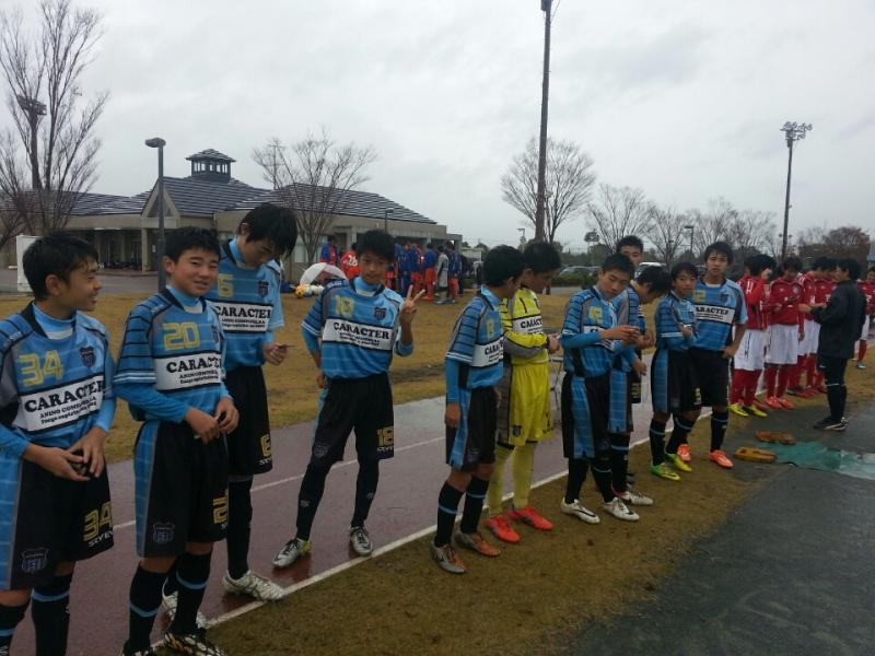 11/29(土)U14上位リーグ第9節