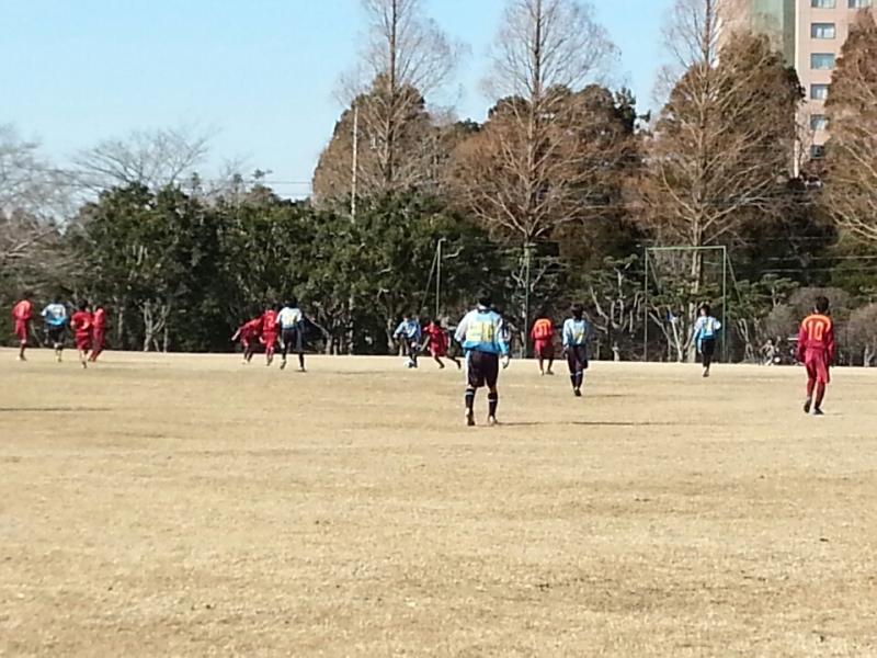1/11(日)U13トレーニングマッチ
