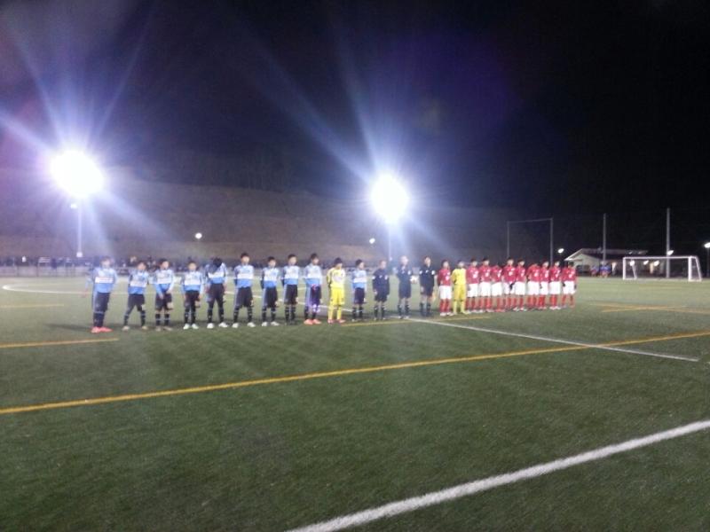2/28(土)U14リーグクラブユースシード枠決定戦