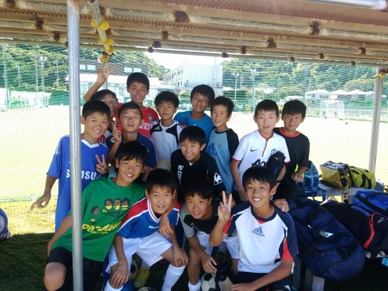 ジュニアサッカースクール高学年合宿