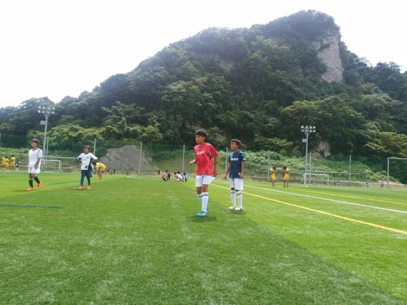 ジュニアサッカースクール高学年合宿2日目-3