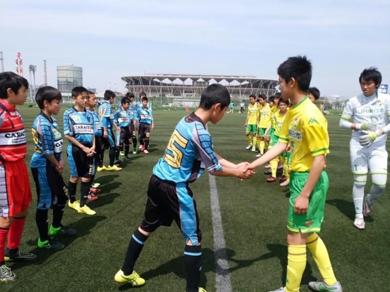 4/9(土)U14トレーニングマッチ