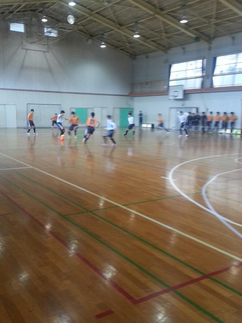 11/16(日)U15フットサルトレーニングマッチ