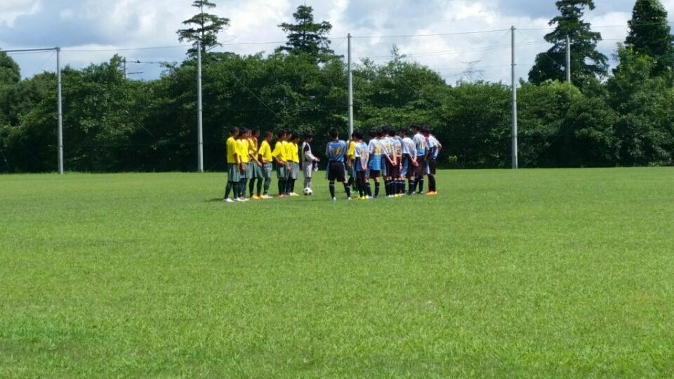 8/3(水)U15トレーニングマッチ